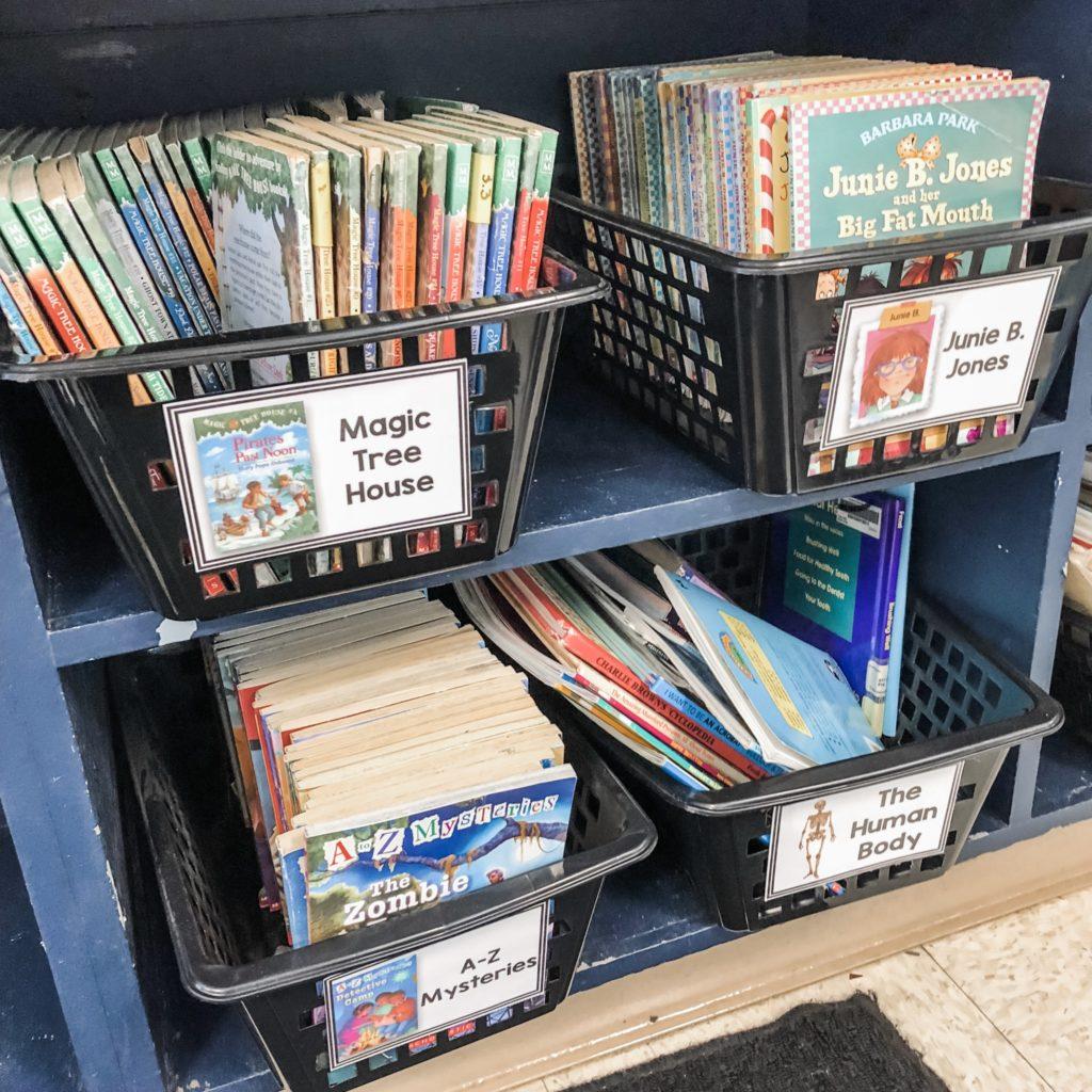 Organizing a Classroom Library   True Life: I'm a Teacher